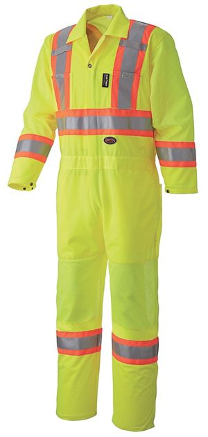 Hi Viz Traffic Safety Coverall